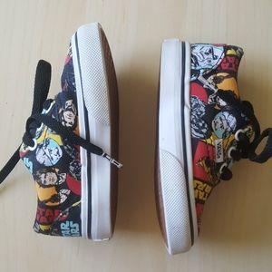 aa199e307e Vans Shoes - Star Wars Infant Vans EUC